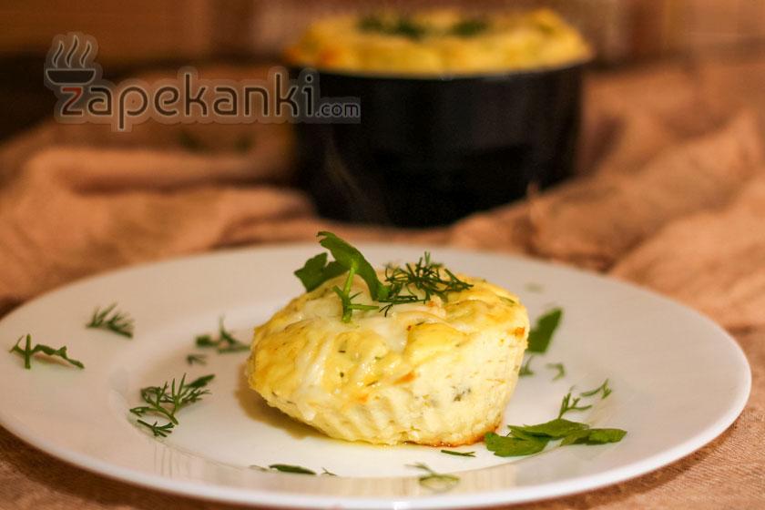 запеканка с сыром и творогом