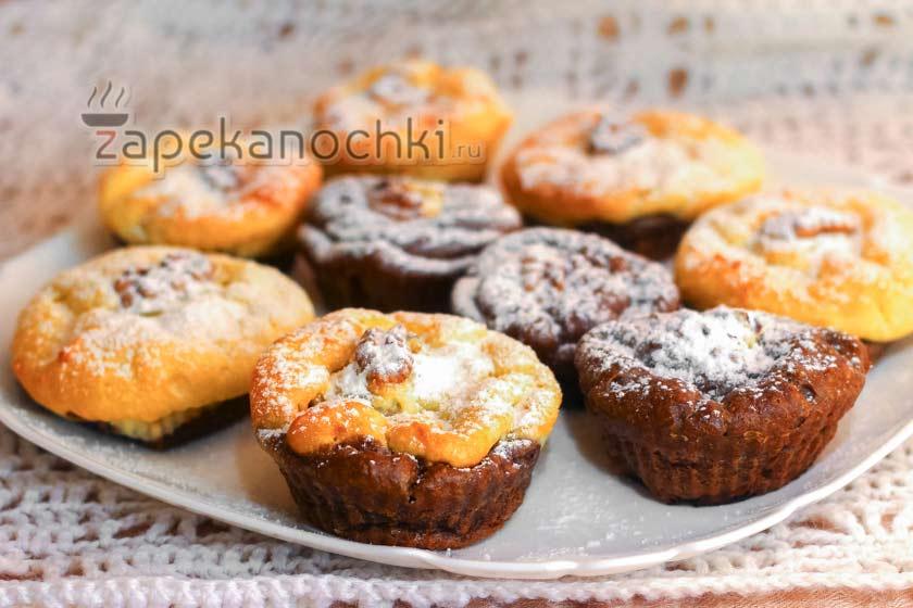 творожная запеканка с орехами в духовке рецепт с фото