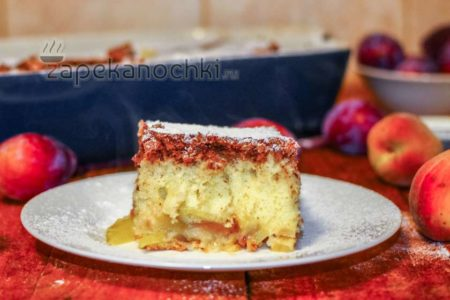 пирог с мукой и манкой