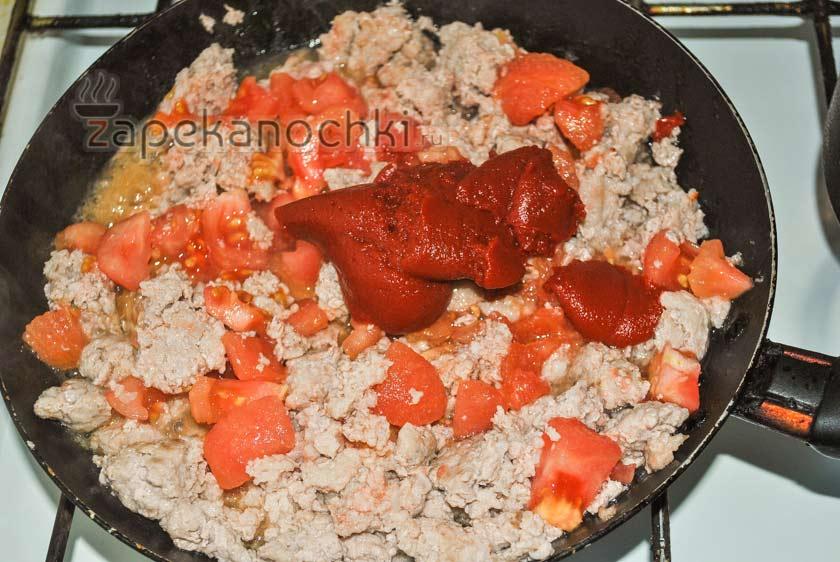 томатная паста в фарш