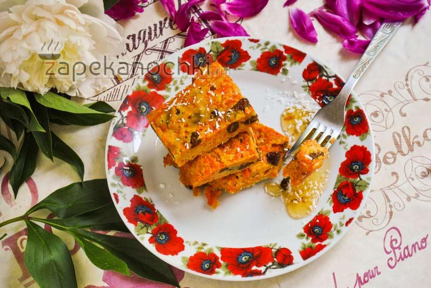 морковная запеканка с манкой в мультиварке рецепт с фото