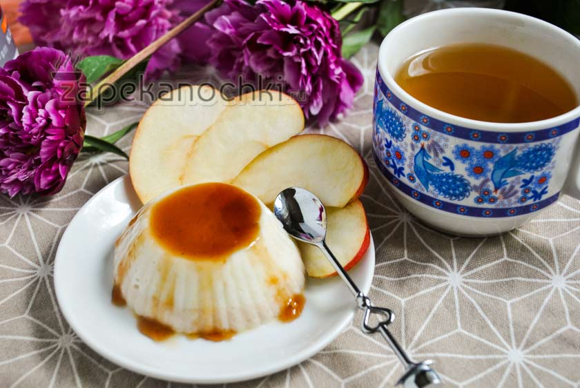 Пудинг из манки в мультиварке рецепт с фото